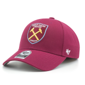Бейсболка '47 Brand - West Ham United  '47 MVP Adjustable (cardinal)