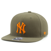 Бейсболка '47 Brand - New York Yankees No Shot Snapback (sandalwood)