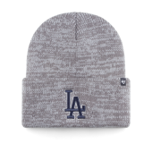 Шапка '47 Brand - Los Angeles Dodgers Brain Freeze Cuff (dark grey)