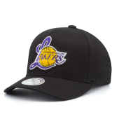 Бейсболка Mitchell & Ness - Los Angeles Lakers Letterman Flexfit 110 Snapback