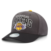 Бейсболка Mitchell & Ness - Los Angeles Lakers G2 Arch Flexfit 110 Snapback