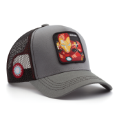Бейсболка Capslab - Marvel Iron Man (grey)