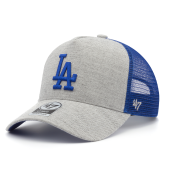 Бейсболка '47 Brand - Los Angeles Dodgers Storm Cloud Mesh '47 MVP DT
