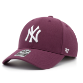 Бейсболка '47 Brand - New York Yankees '47 MVP Snapback (plum)