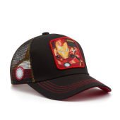 Бейсболка Capslab - Junior Marvel Iron Man (black)