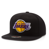 Бейсболка Mitchell & Ness - Los Angeles Lakers DownTime Redline Snapback