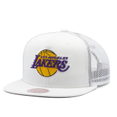 Бейсболка Mitchell & Ness - Los Angeles Lakers Cool Down Trucker Snapback