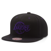 Бейсболка Mitchell & Ness - Los Angeles Lakers Contrast Stitch Snapback