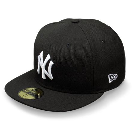 Youth New York Yankees Black Baseball Cap New Era
