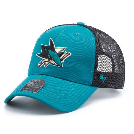 44f5b0ae146444 Бейсболка '47 Brand Nhl San Jose Sharks Branson '47 MVP - купить в ...