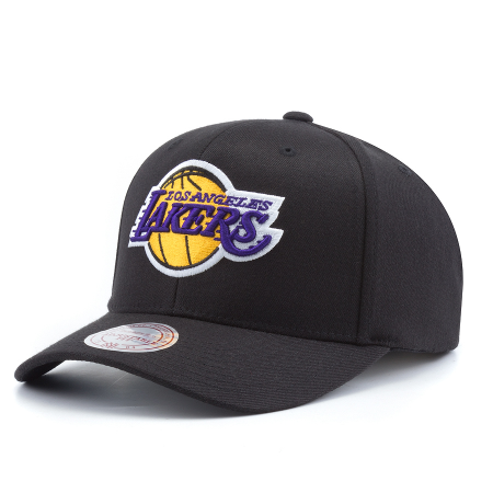 Бейсболка Mitchell & Ness - Los Angeles Lakers Team Logo High Crown Flexfit 110 Snapback