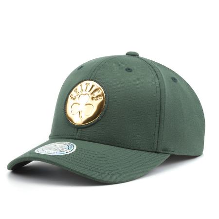 finest selection fb653 22e19 Бейсболка Mitchell   Ness - Boston Celtics Metallic Logo 110 Snapback