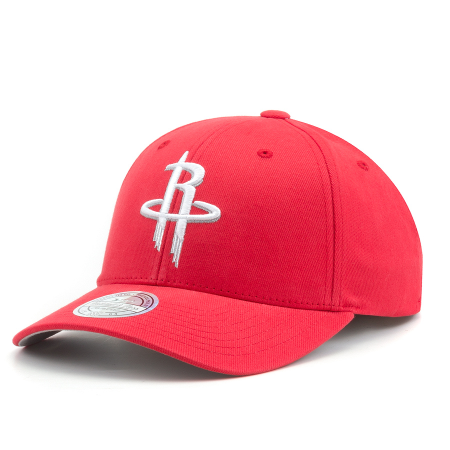Бейсболка Mitchell & Ness - Houston Rockets Team Logo Low Pro Snapback