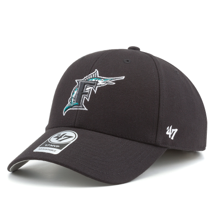 another chance 74c27 4669b Бейсболка  47 Brand - Miami Marlins  47 MVP Cooperstown