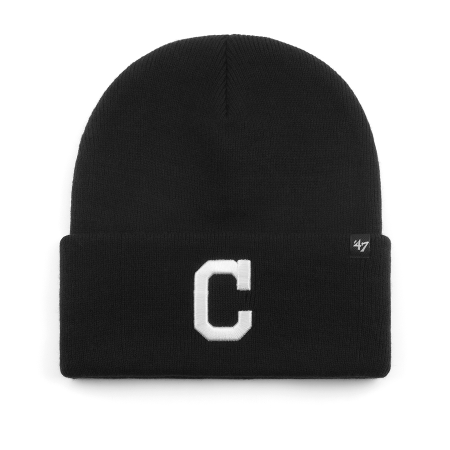 Шапка '47 Brand - Cleveland Indians Haymaker '47 Cuff Knit (black)