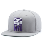 Бейсболка Mitchell & Ness - New York University Violets Wool Solid Snapback (grey)