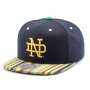 Бейсболка Mitchell & Ness - Notre Dame Fighting Irish Native Stripe Snapback