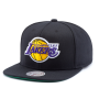 Бейсболка Mitchell & Ness - Los Angeles Lakers Wool Soild 2 Snapback