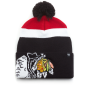 Шапка '47 Brand - Chicago Blackhawks Mokemo Cuff Knit