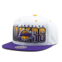 Бейсболка Mitchell & Ness - Los Angeles Lakers Home Stand Snapback