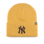 Шапка '47 Brand - New York Yankees Haymaker '47 Cuff Knit (wheat)