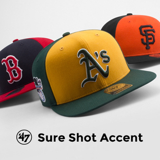 '47 Brand - Accent Sure Shot Snapback